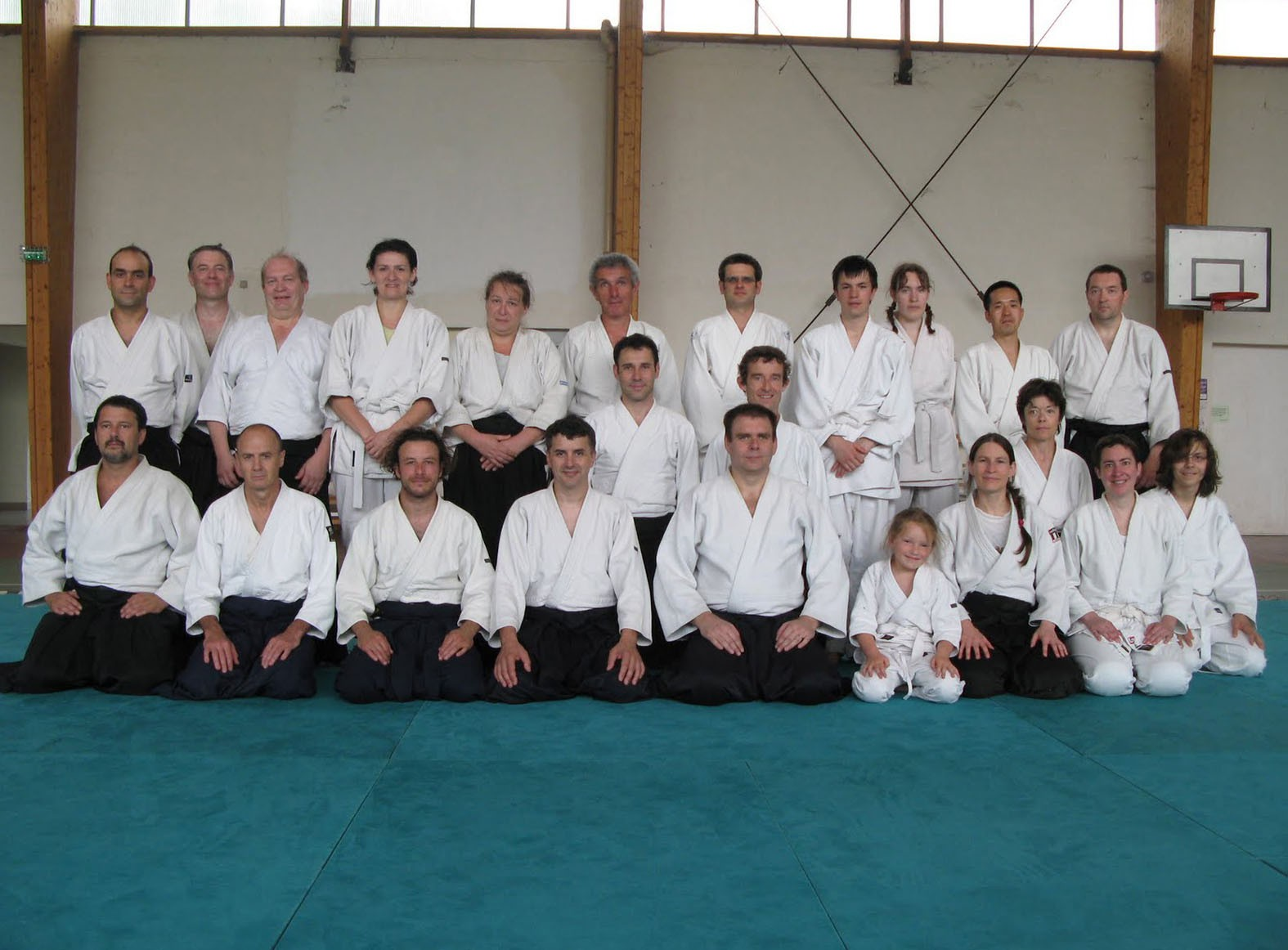Photo du stage de Senlis 2010
